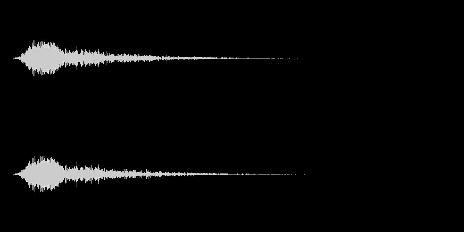 【ショートブリッジ25-1】の未再生の波形