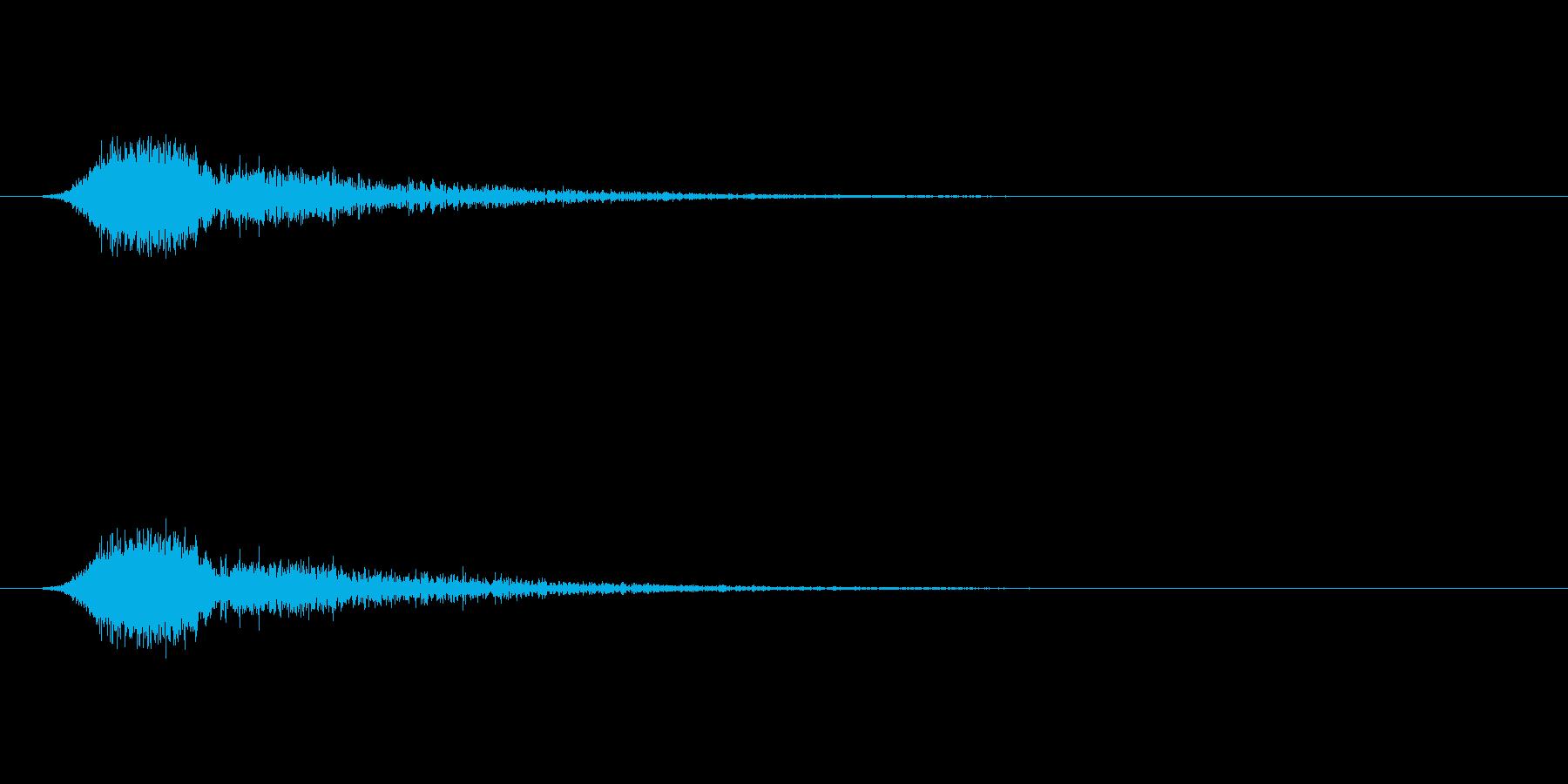 【ショートブリッジ25-1】の再生済みの波形