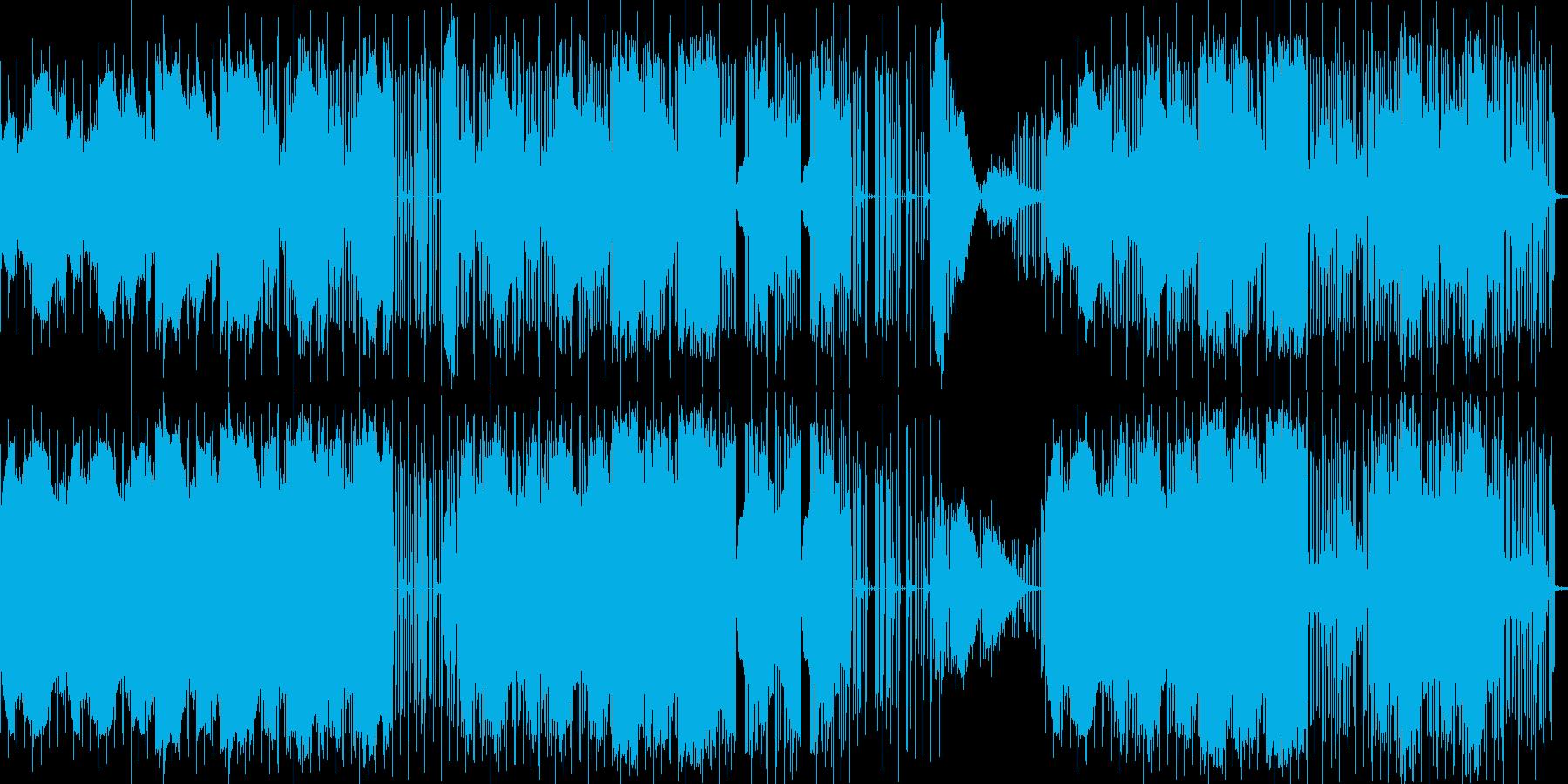 お茶目なホラーミュージックの再生済みの波形
