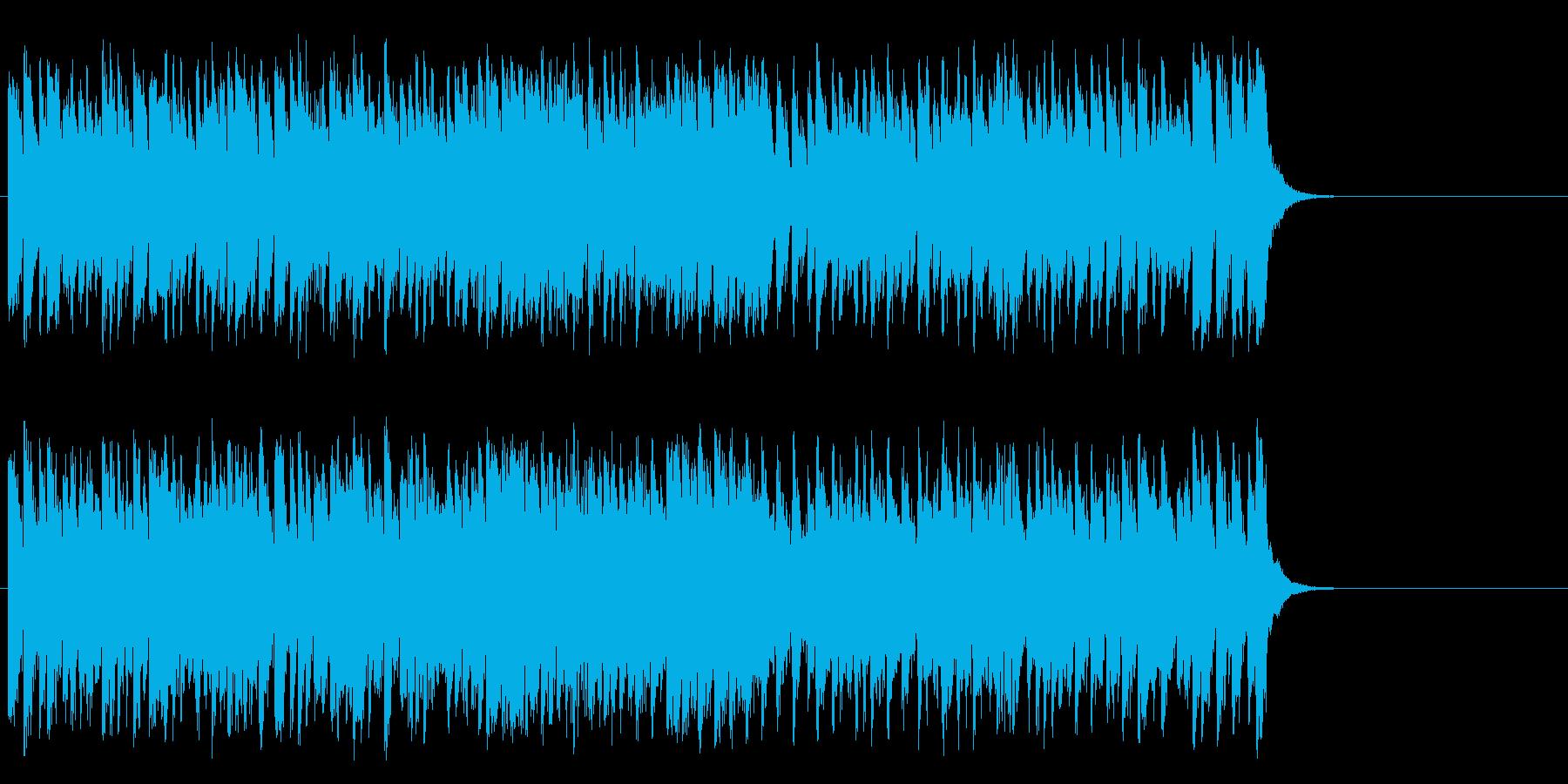 颯爽と繰り出す軽妙ポップ(サビ~イン…)の再生済みの波形