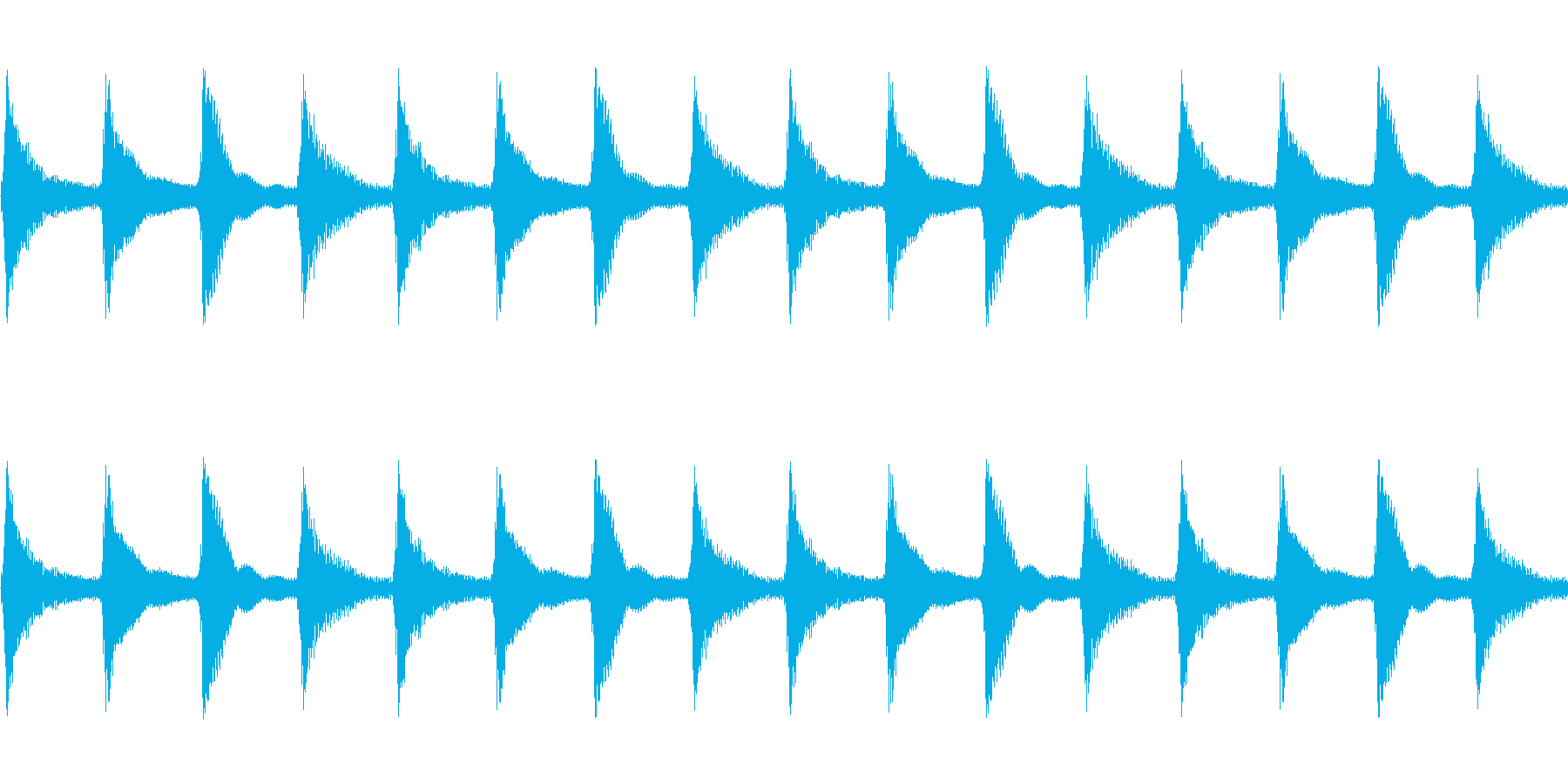 【西部劇風アコースティックギター】の再生済みの波形