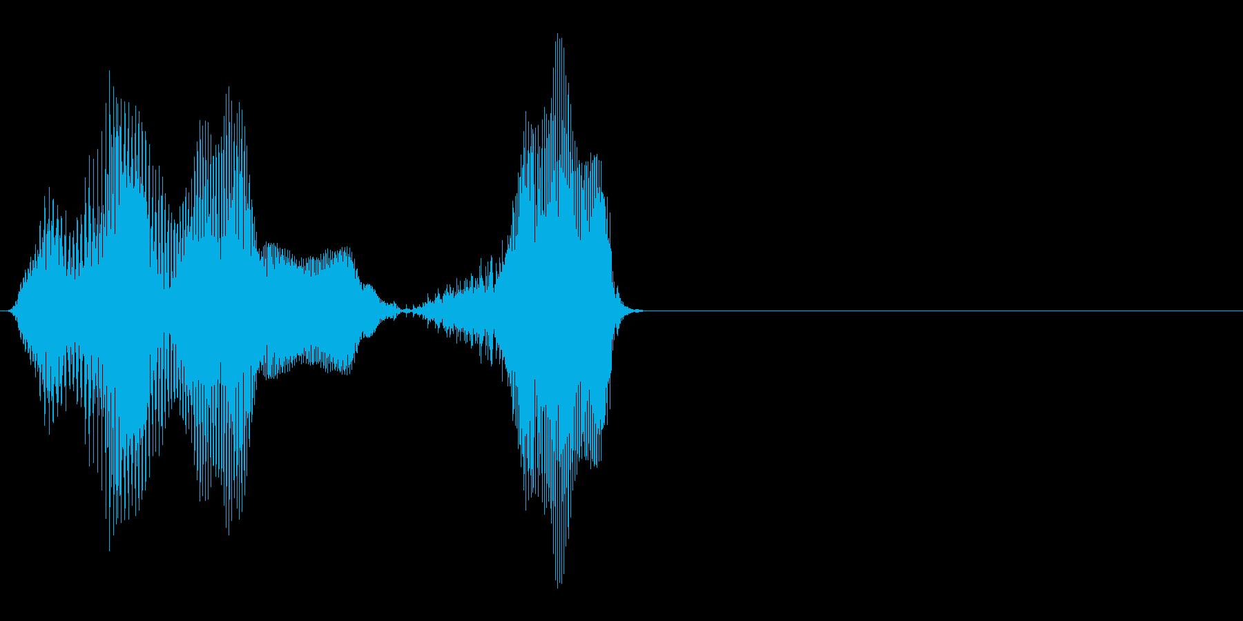 40(よんじゅっ)の再生済みの波形