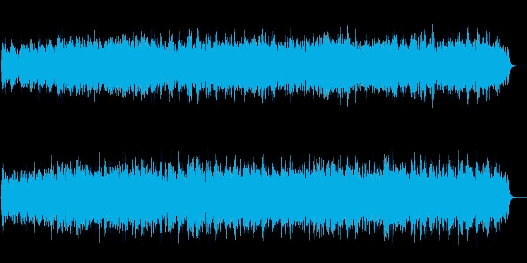 閉ざされた静寂の中の叙情的マイナーBGMの再生済みの波形