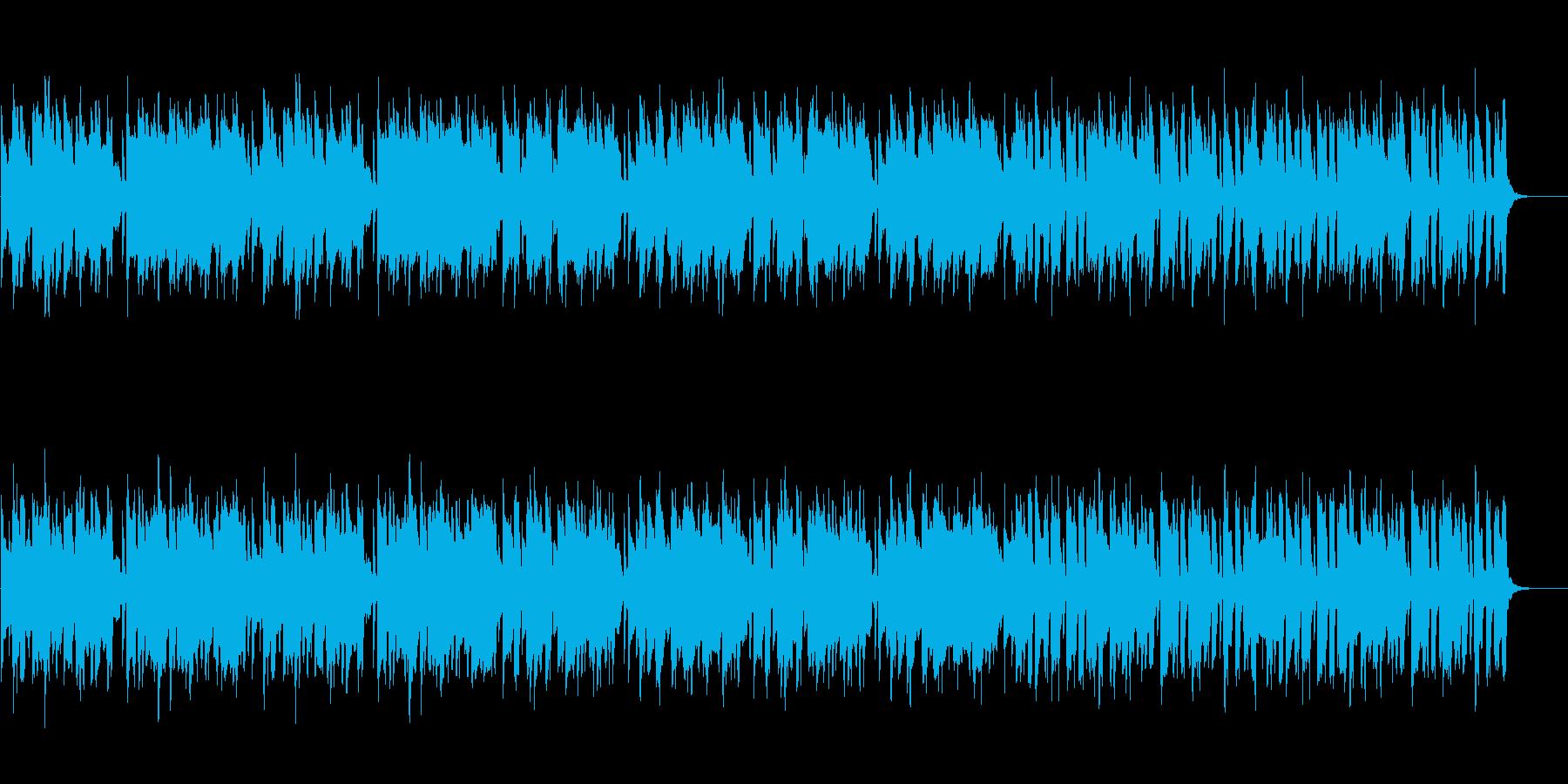 ほのぼのした日常のポップスの再生済みの波形