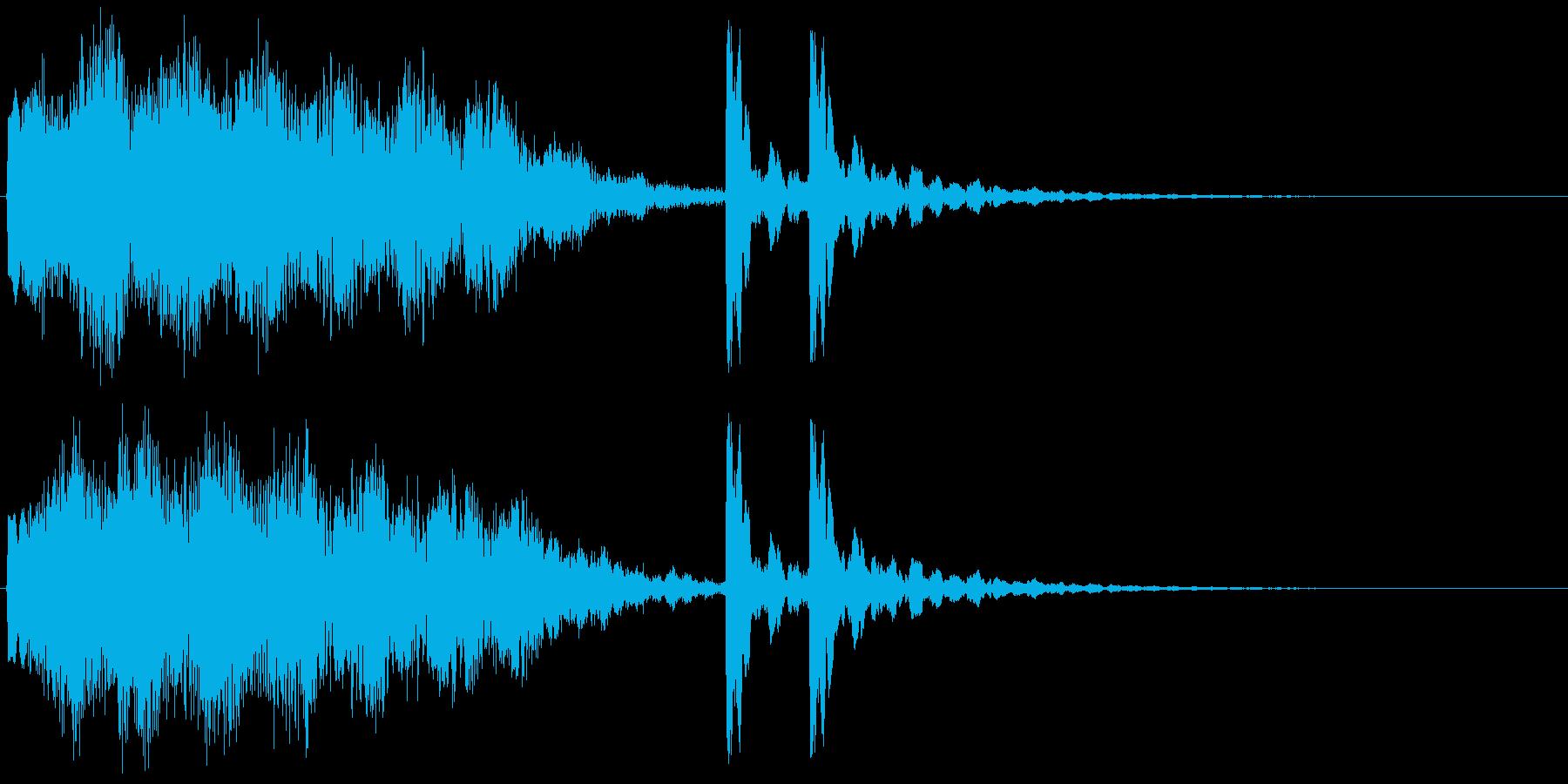 5,宇宙&和風サウンドロゴ (3秒ロゴ)の再生済みの波形