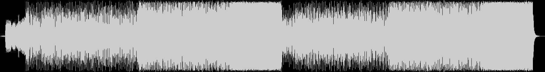 チェロを用いたオシャレなロックBGMの未再生の波形