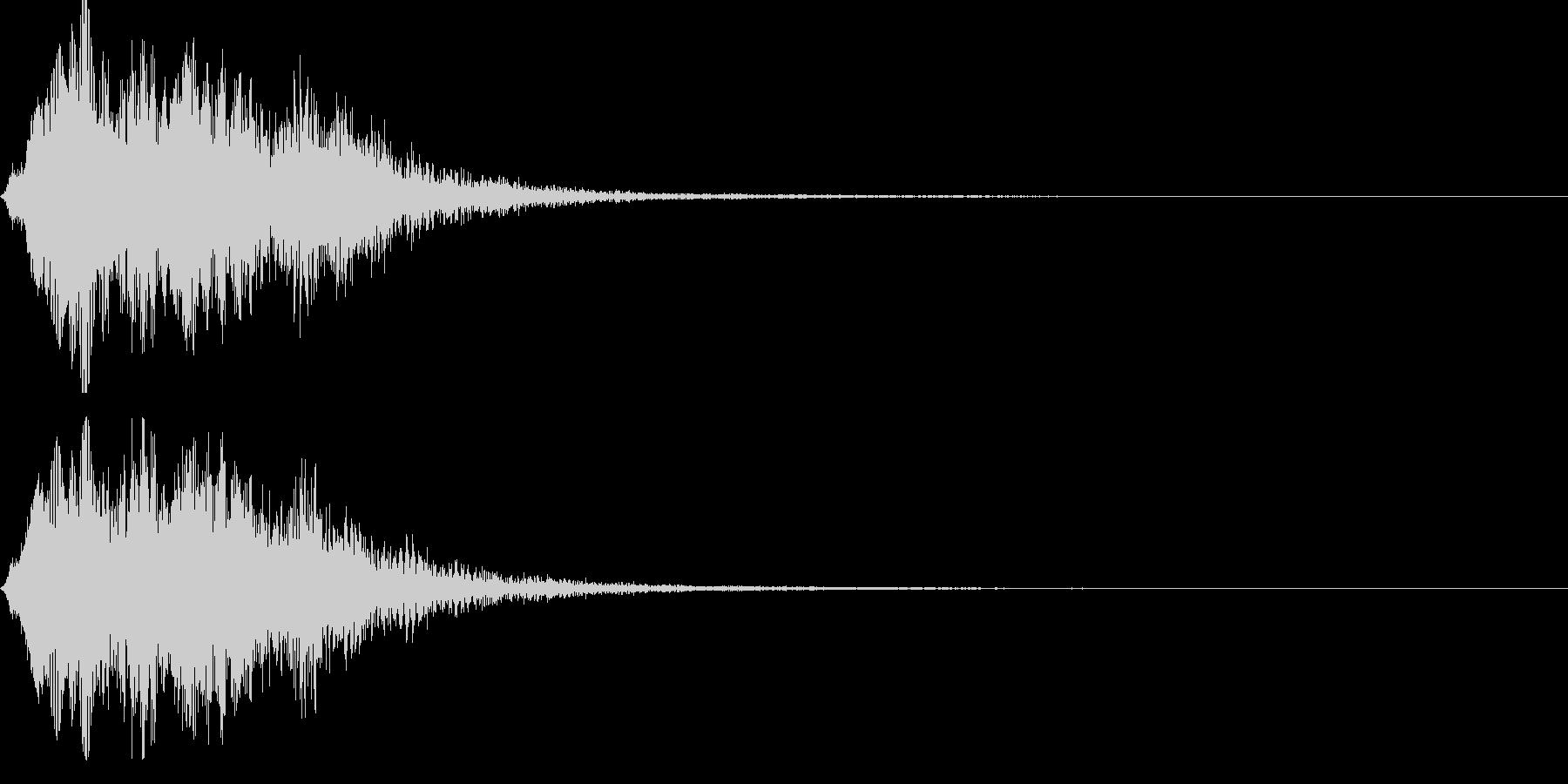 ストリングフレーズ03の未再生の波形