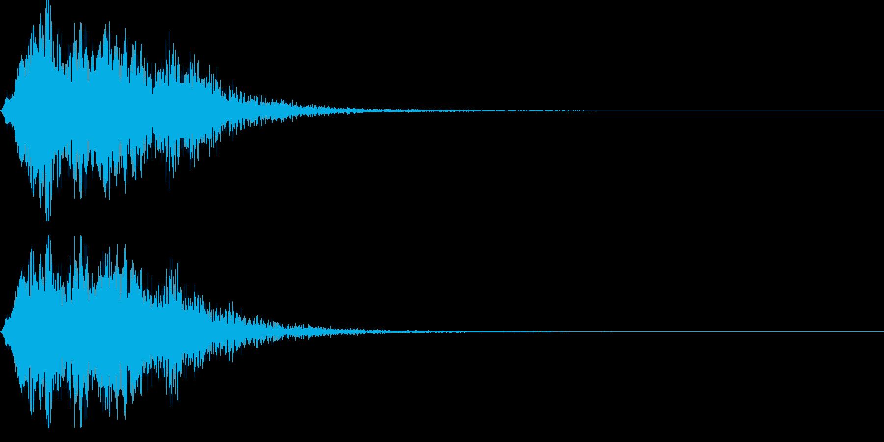 ストリングフレーズ03の再生済みの波形