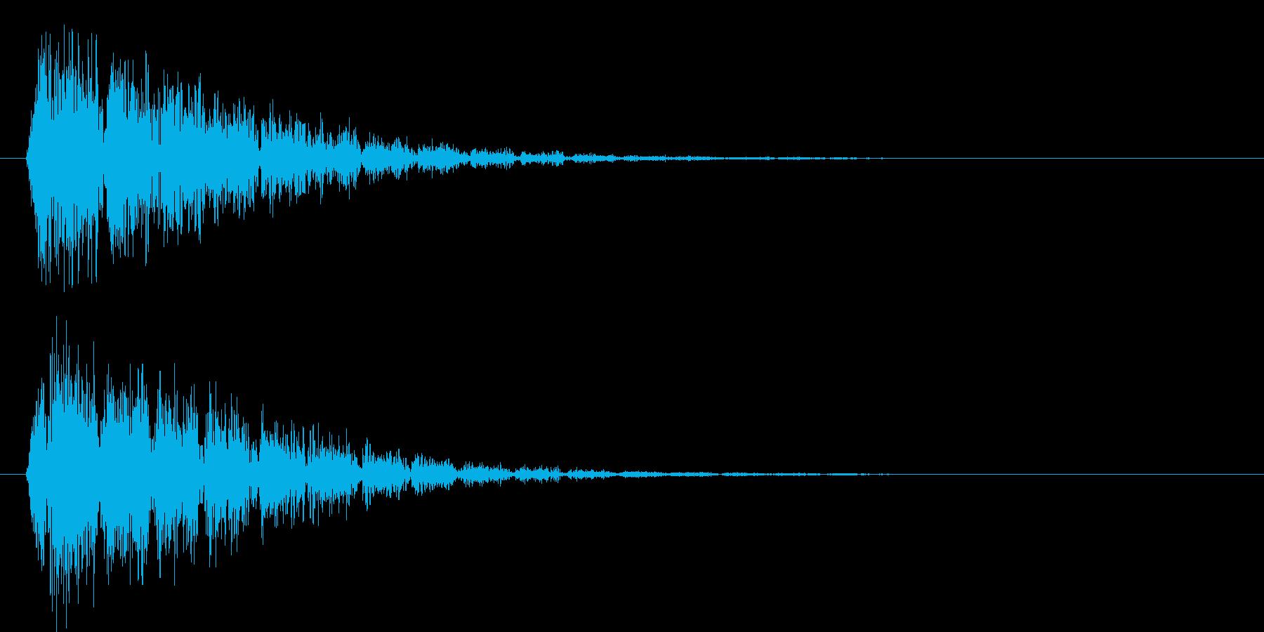 ドュパッーパーパーパー(衝撃波)の再生済みの波形
