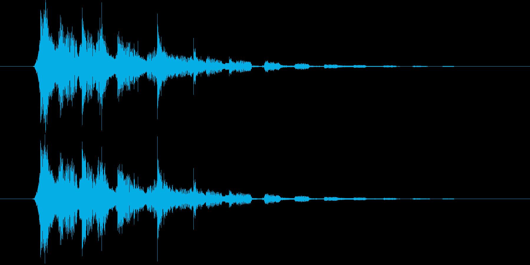 キラキラキラ…(流れ星、魔法)の再生済みの波形