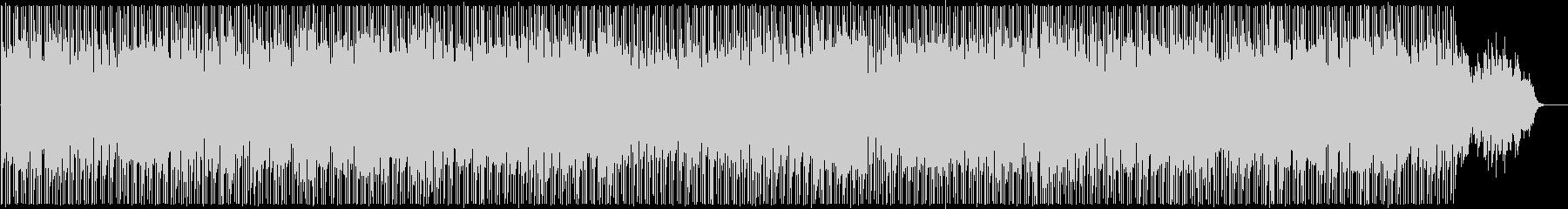 まったりと朗らかなシンセサウンドの未再生の波形