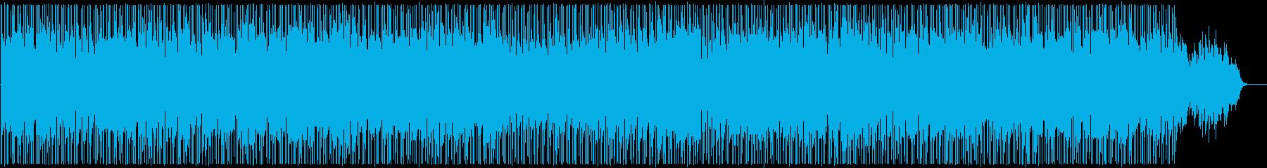 まったりと朗らかなシンセサウンドの再生済みの波形