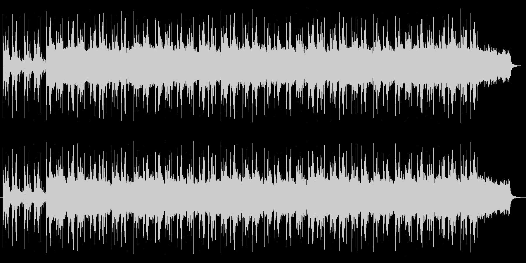壮大な雰囲気の曲の未再生の波形