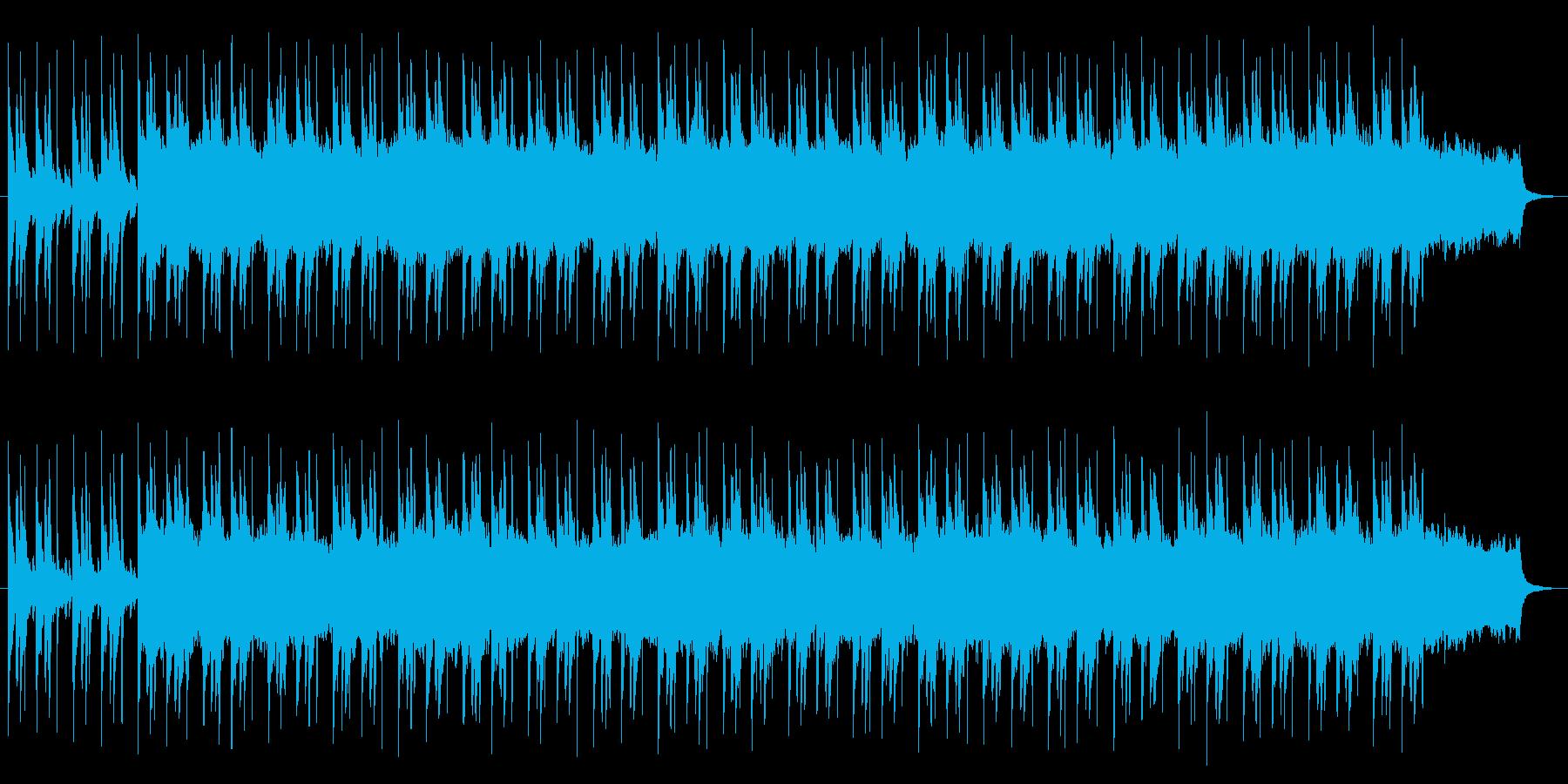 壮大な雰囲気の曲の再生済みの波形