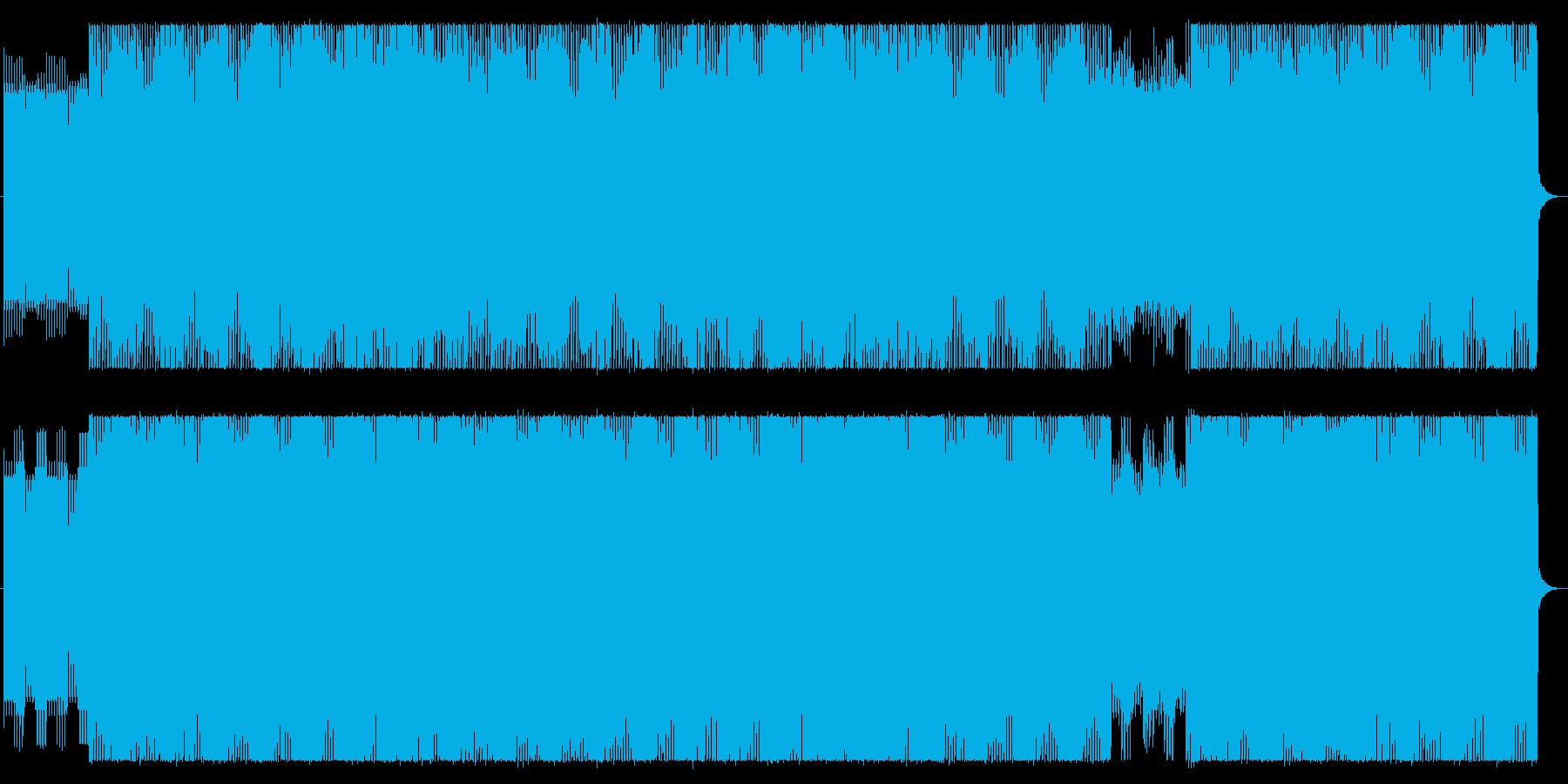 不思議な感じのダンスミュージック?の再生済みの波形