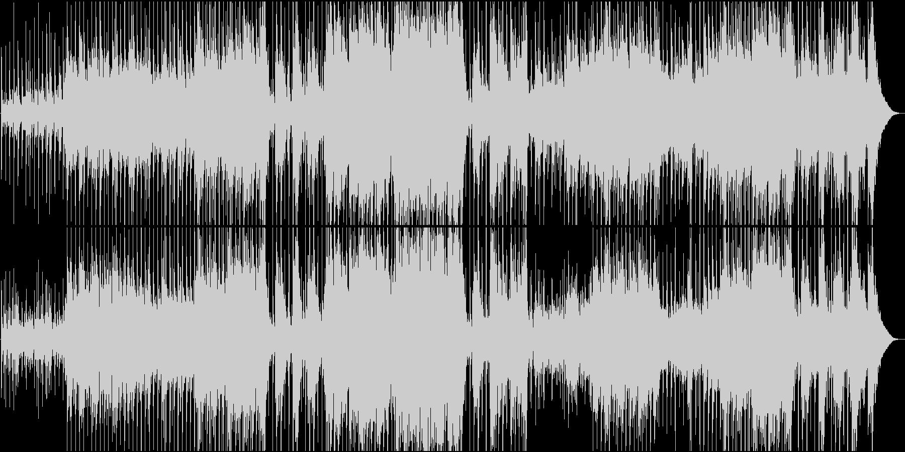映像用普段使いのほのぼのカントリー楽曲の未再生の波形