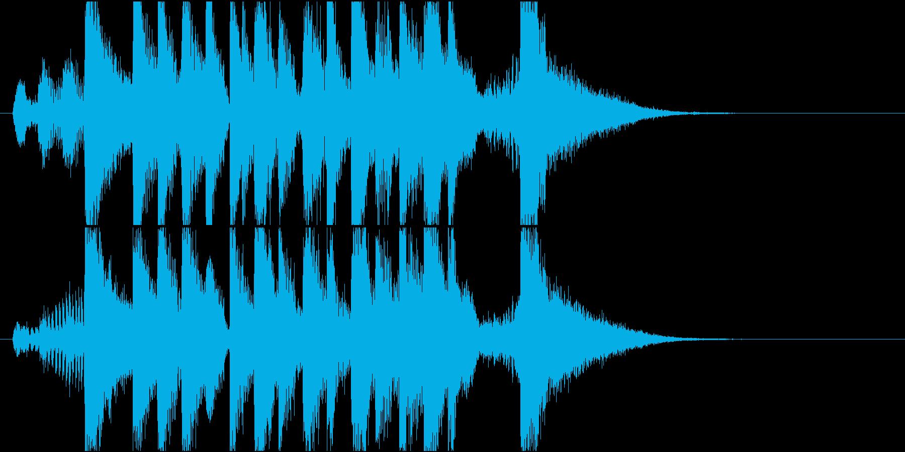 アニメ風のかわいいアイキャッチ その2の再生済みの波形