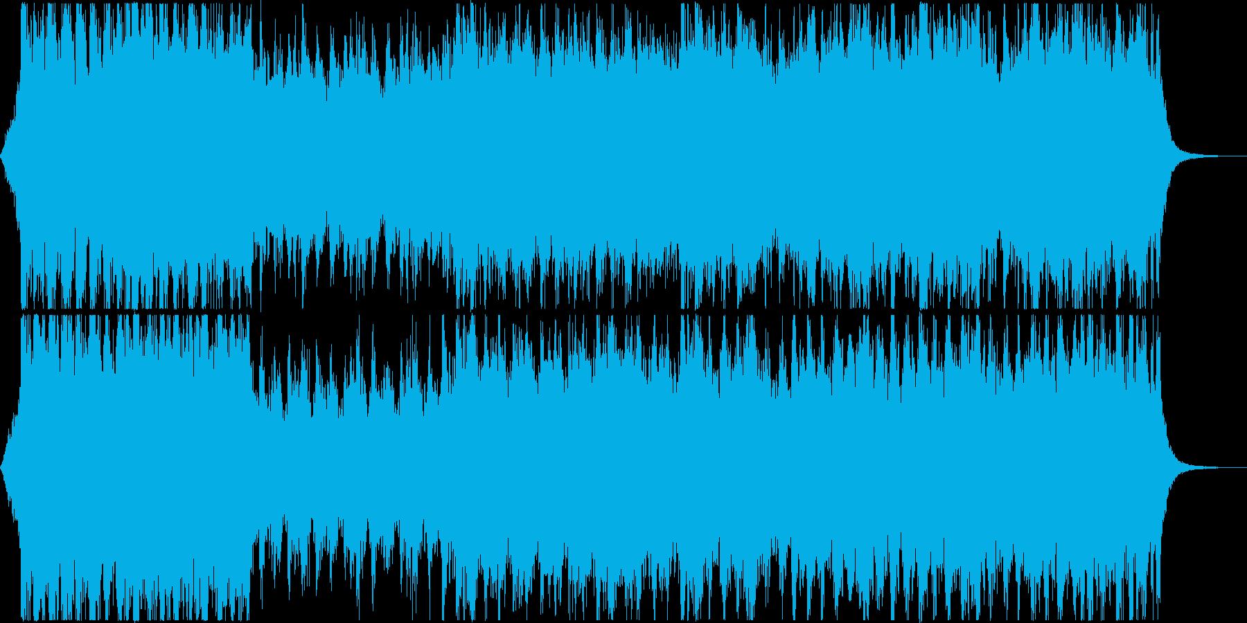 RPGゲームのオープニング風BGMの再生済みの波形