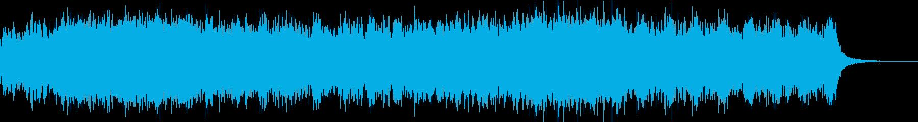 癒し系アンビエントなエレクトロの再生済みの波形