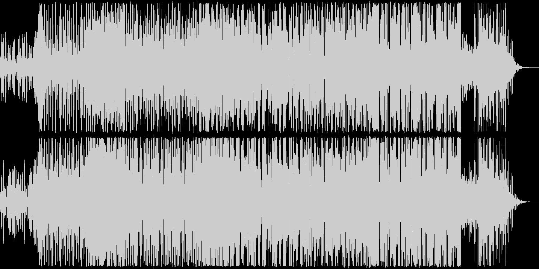 アバンギャルドなEDMの未再生の波形