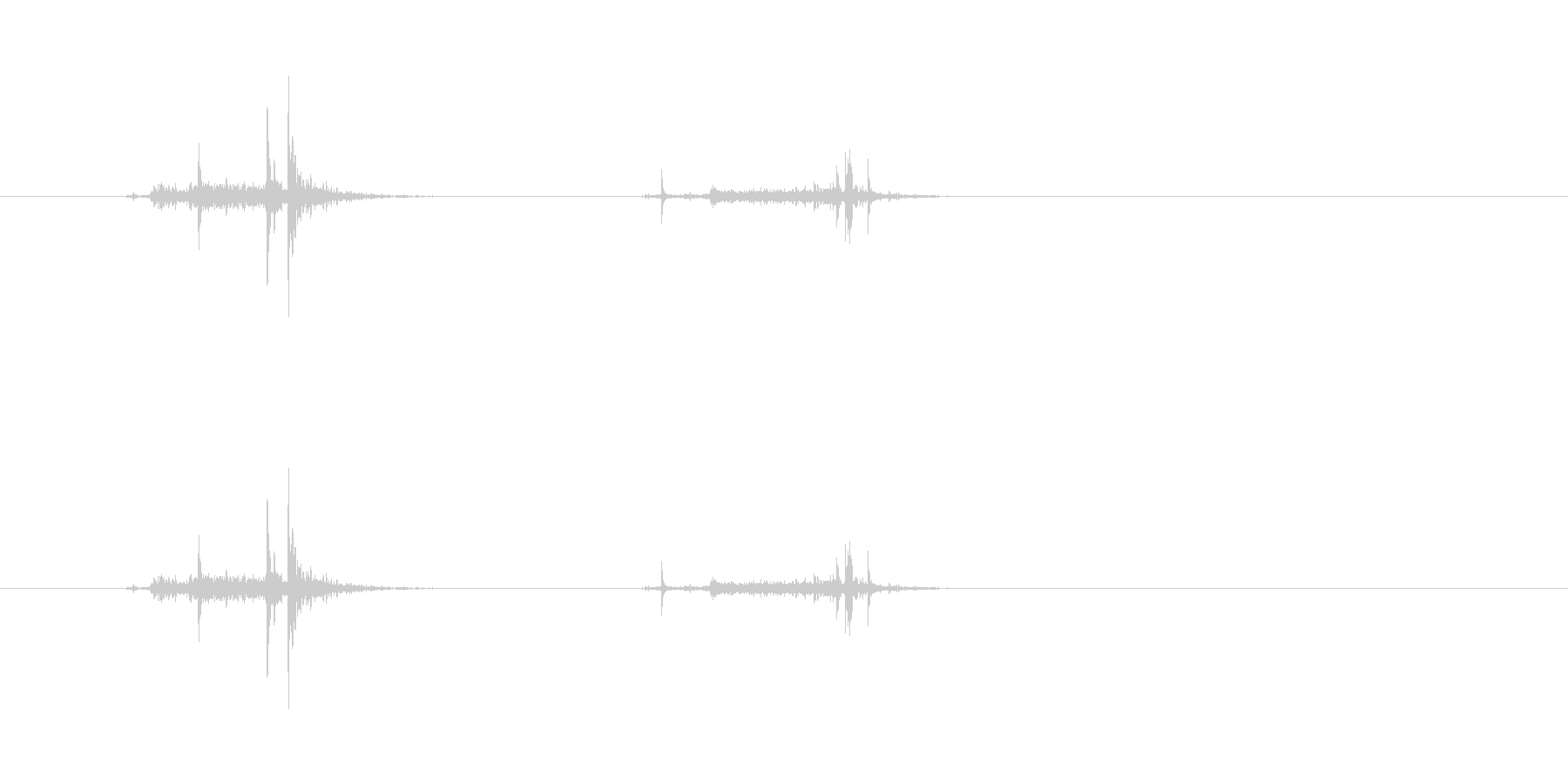 【穴あけパンチ01-2(パンチ)】の未再生の波形
