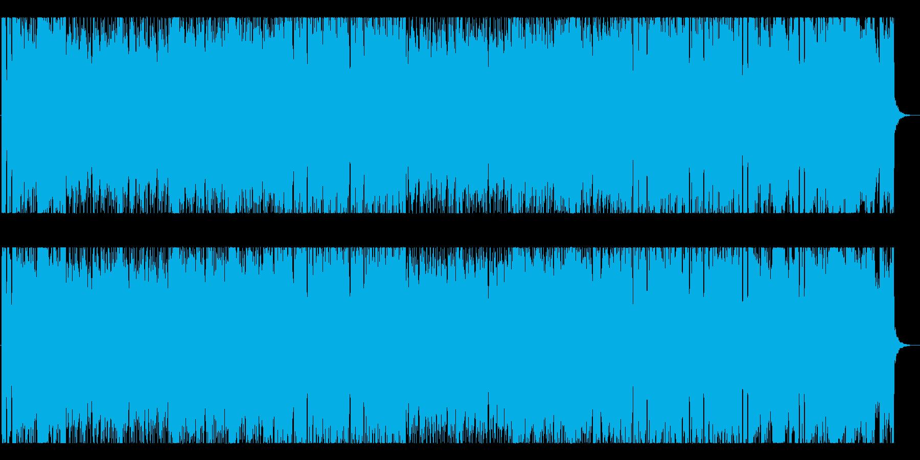 軽快でポップなシンセ曲 疾走感の再生済みの波形