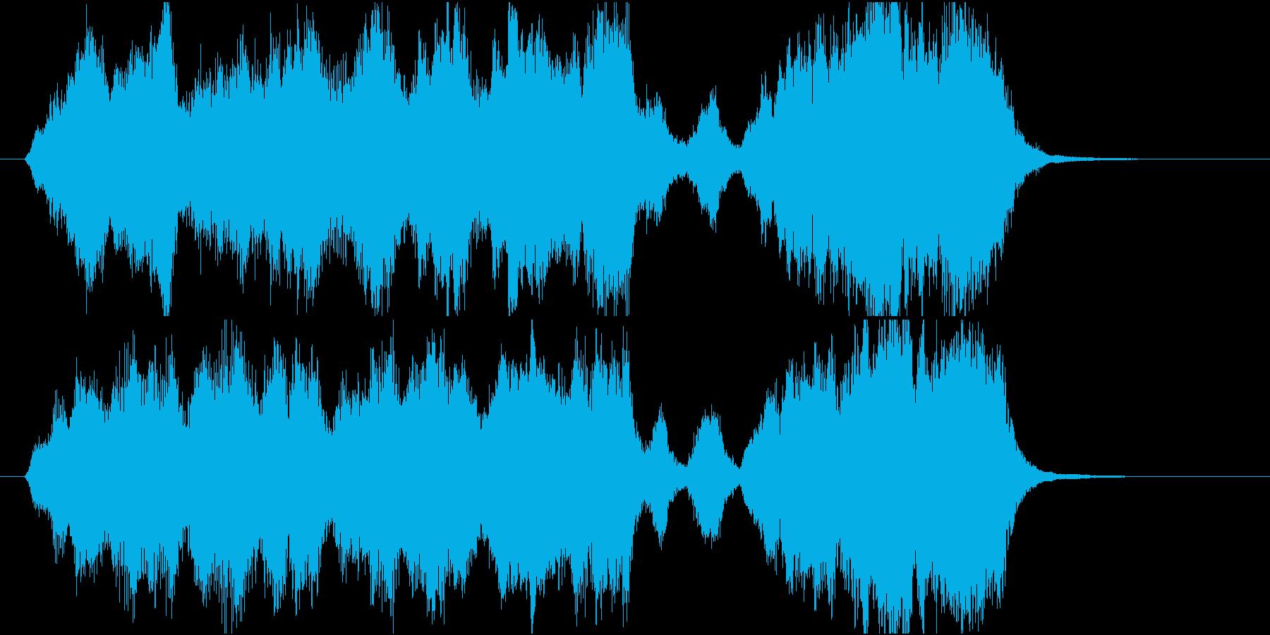 15秒CMサイズの17 癒しの弦楽四重奏の再生済みの波形