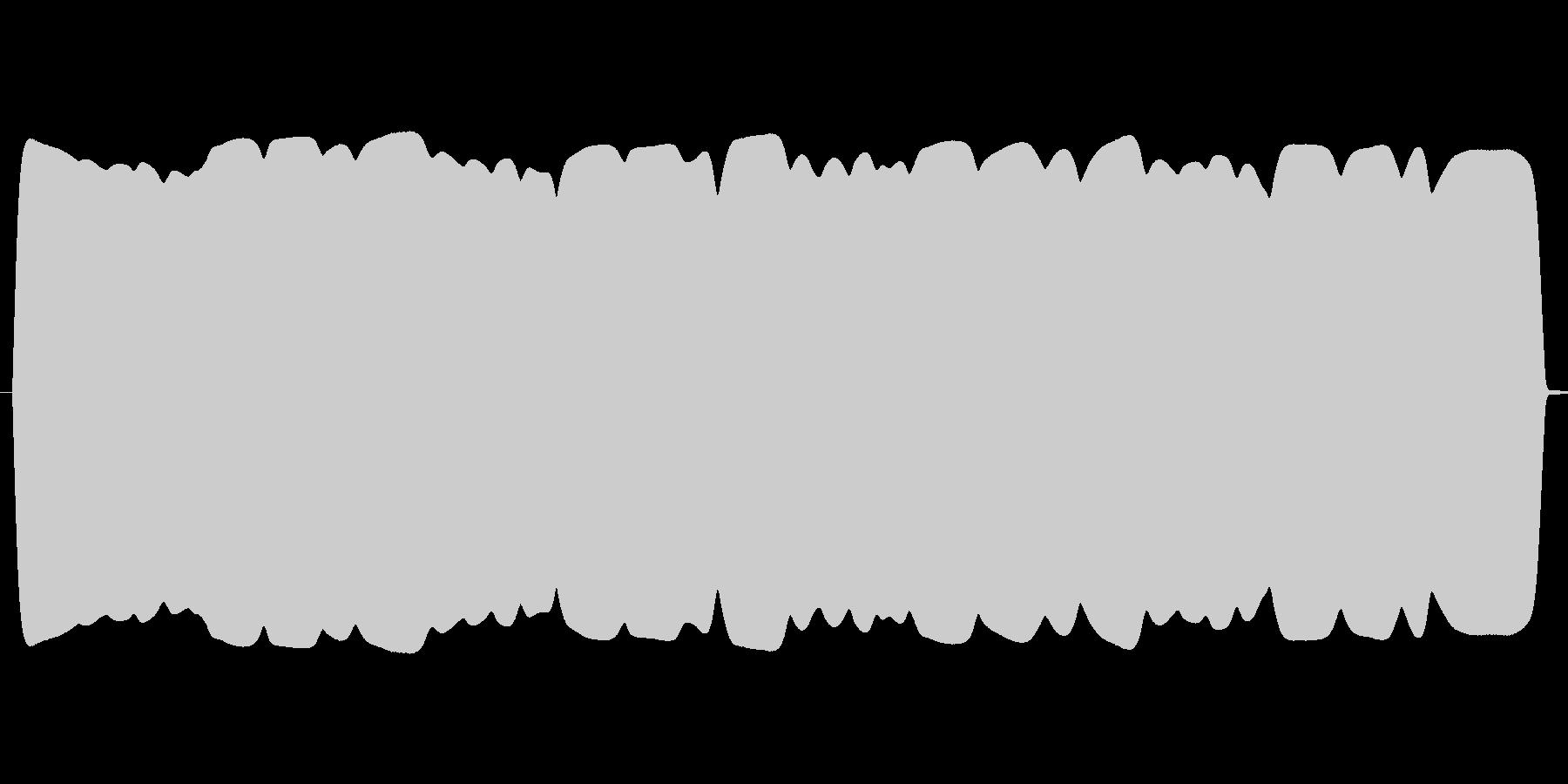 ウインウイン高音域テルミン(飛行物体)の未再生の波形