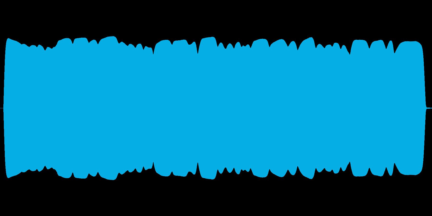 ウインウイン高音域テルミン(飛行物体)の再生済みの波形
