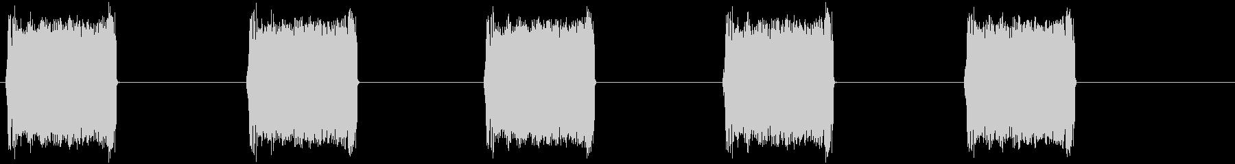 153 携帯のバイブ音の未再生の波形