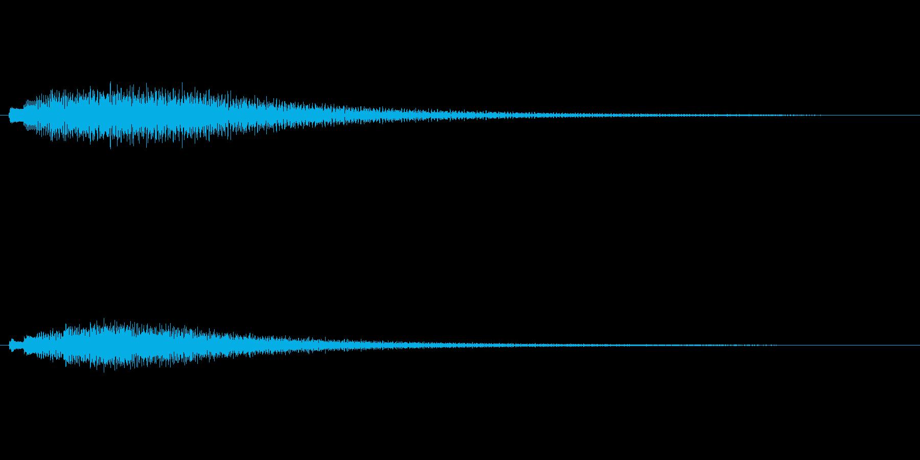 「キラキラキラリン (優しい感じ)」の再生済みの波形