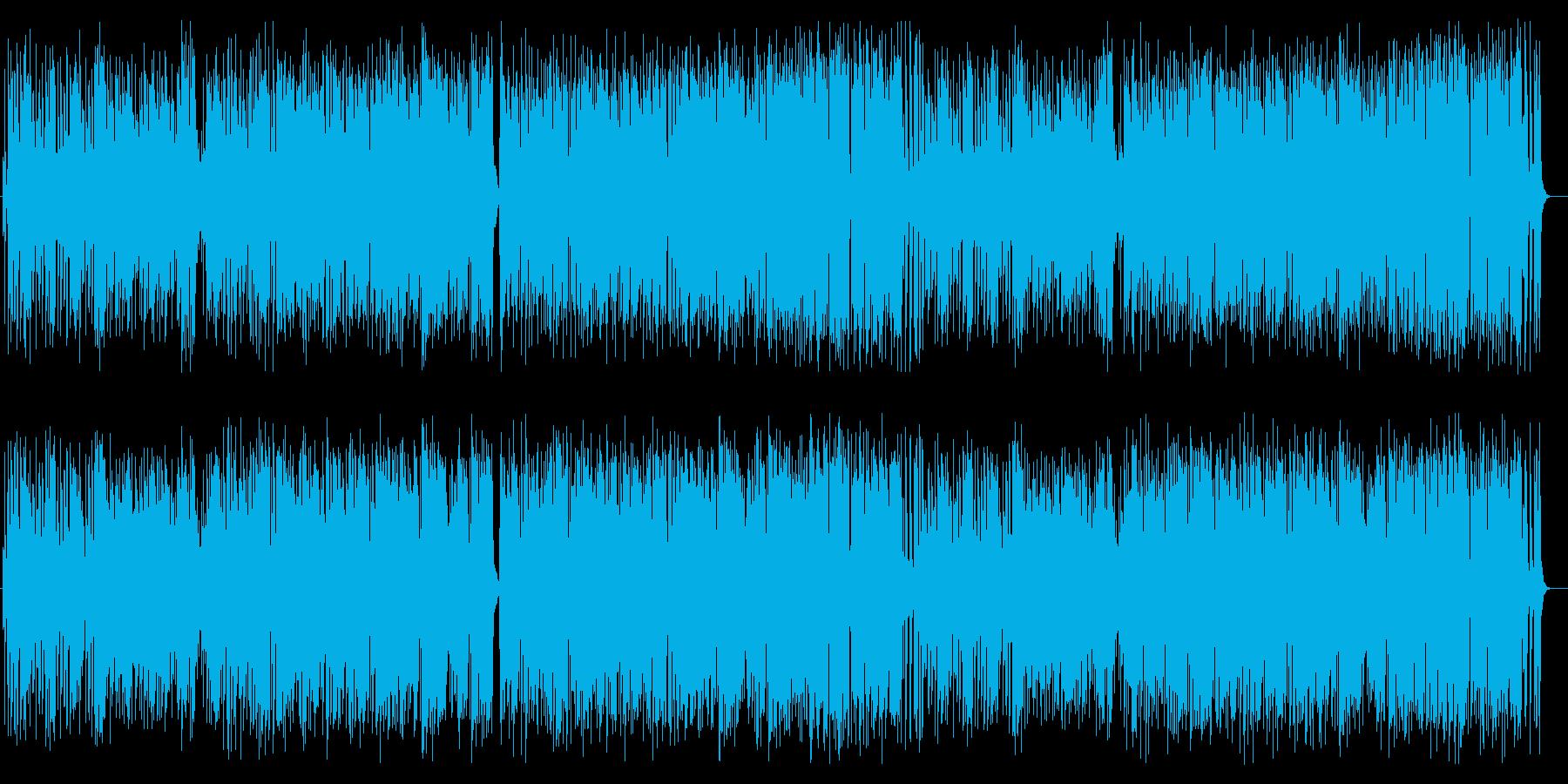 ピアノバッキングが心地良い軽快なポップスの再生済みの波形