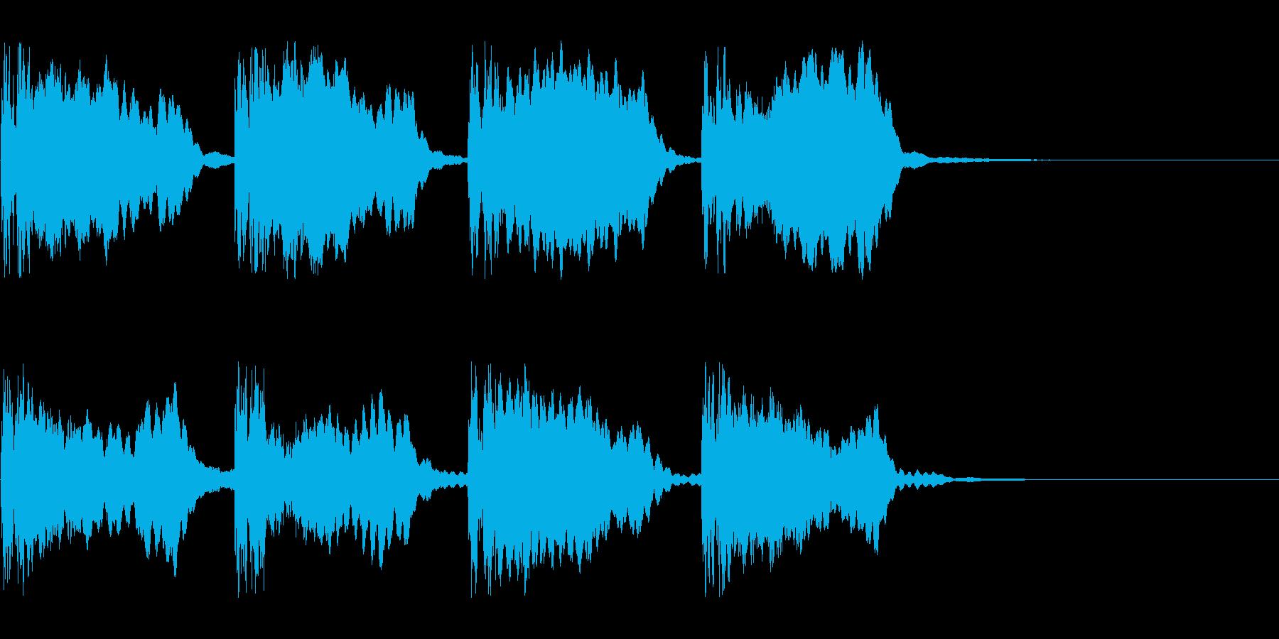 警報_その2の再生済みの波形