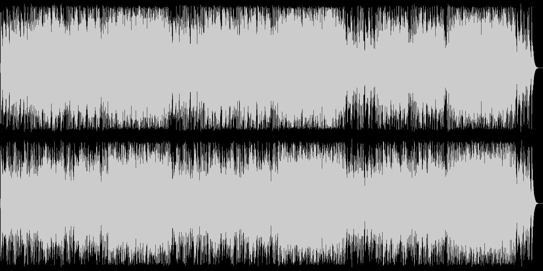 ディンドン空高く オルゴールの未再生の波形