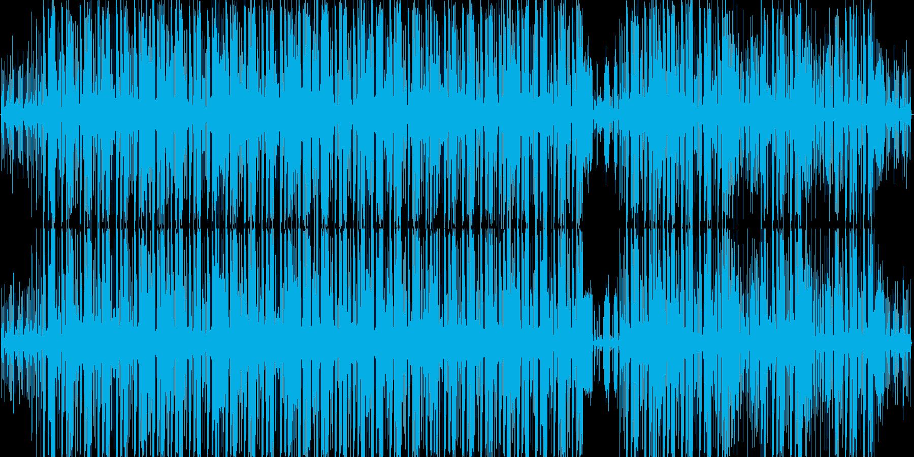 水中を逃げる魚の再生済みの波形