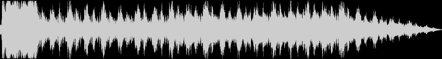 勝利のファンファーレ(ファンタジー系)の未再生の波形