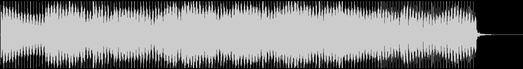 ノリノリな和風テクノ 篠笛生演奏×電子音の未再生の波形