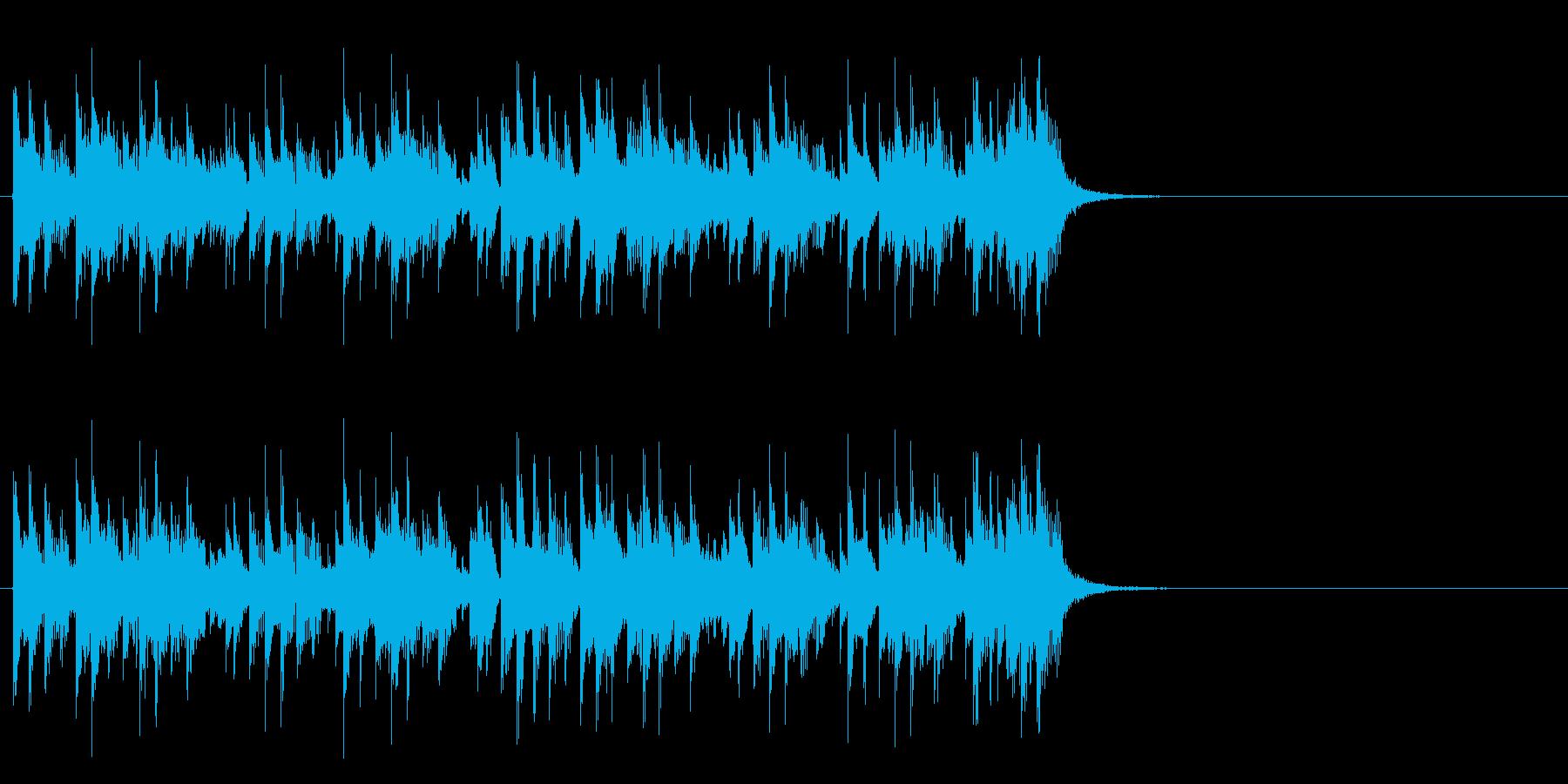 テーマパーク向けポップ(Aメロ)の再生済みの波形