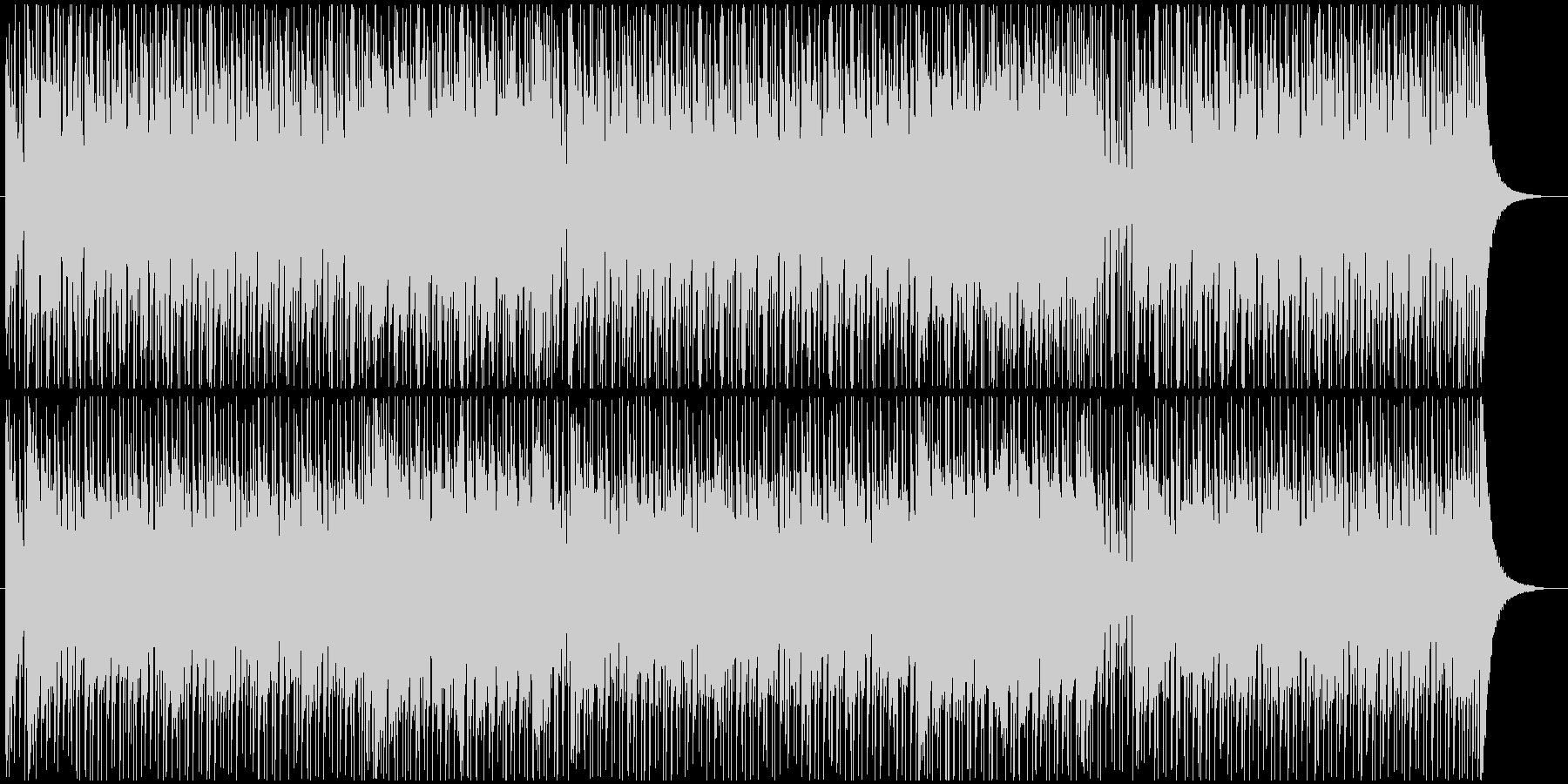 スピード感のあるギターロックの未再生の波形