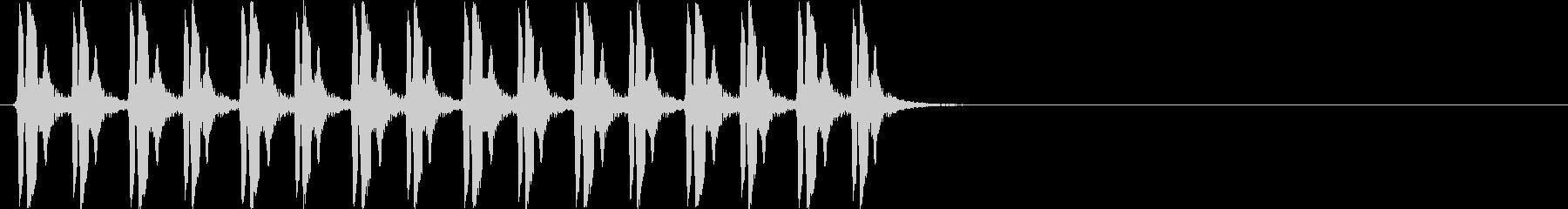 ぴよぴよぴよぴよ×2(混乱状態、遅め)の未再生の波形