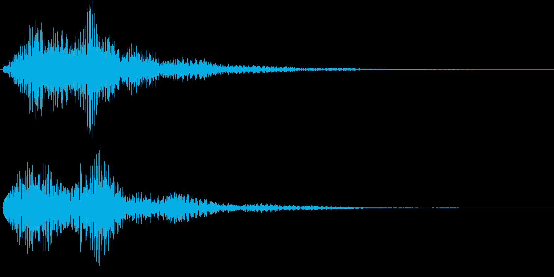 リリンリーン(サウンドロゴ、決定)の再生済みの波形