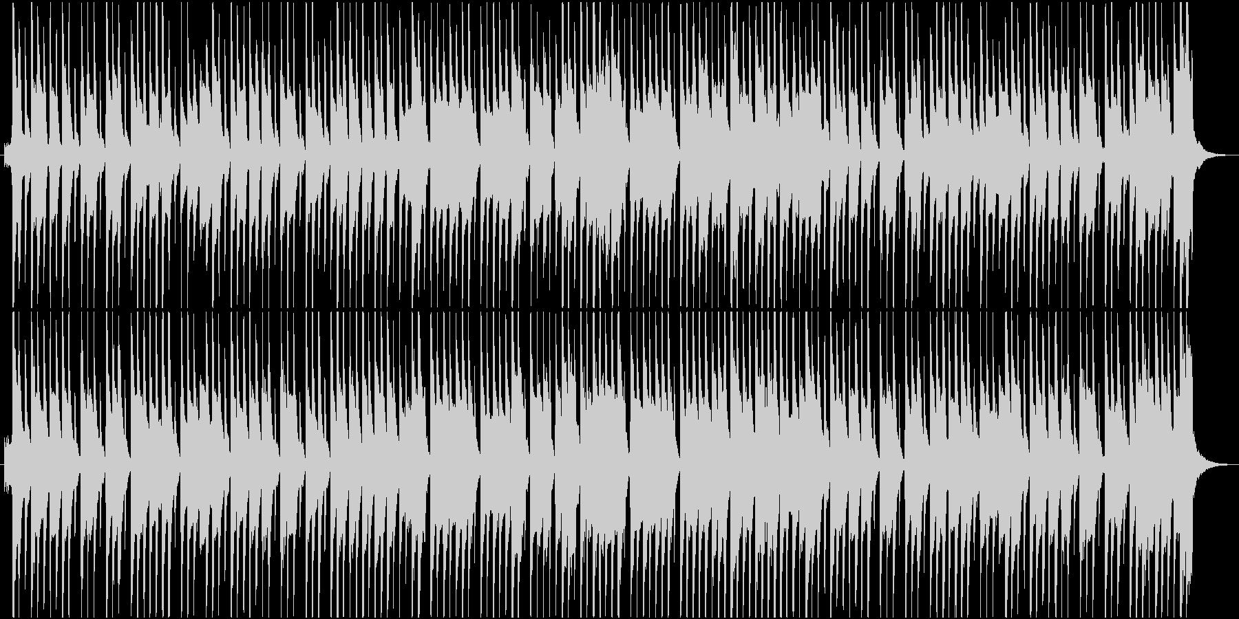ほのぼのしたお気楽な木琴のジングルの未再生の波形