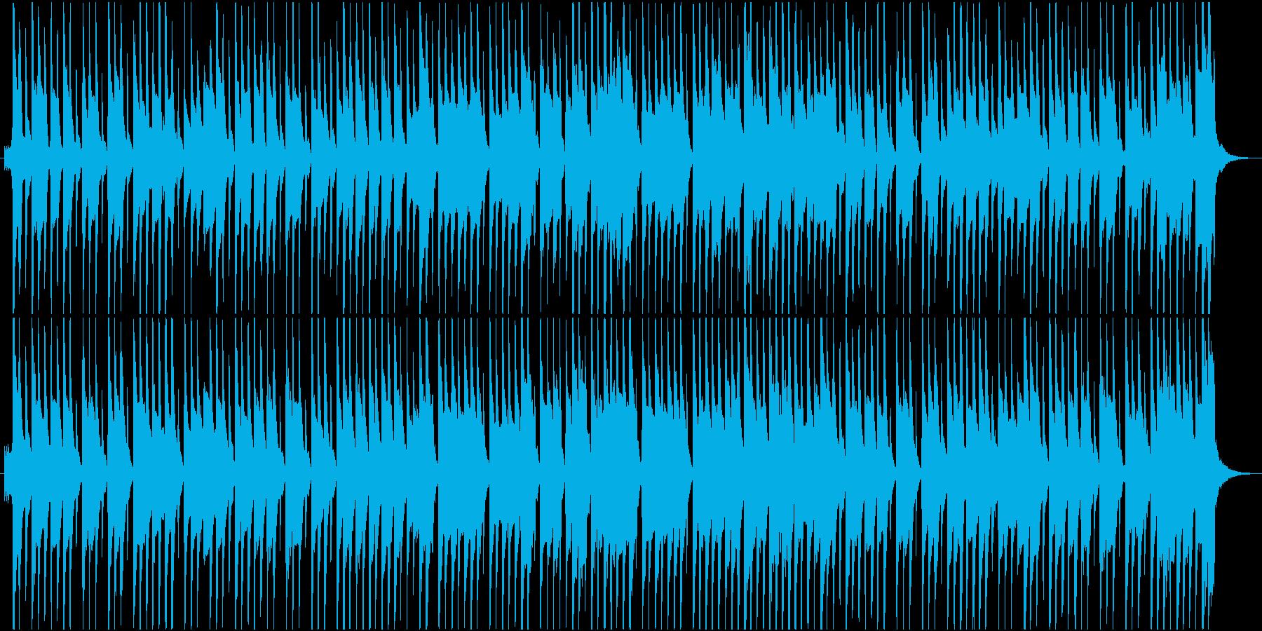ほのぼのしたお気楽な木琴のジングルの再生済みの波形