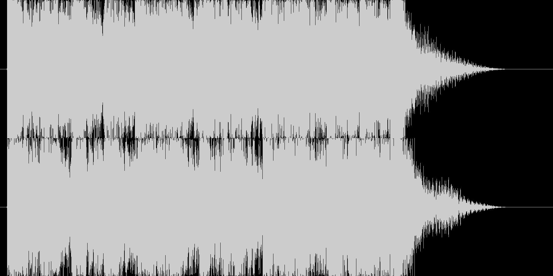 当たり、ボーナス系 ブラスジングルの未再生の波形
