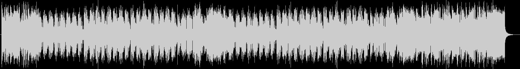 明るく勢いのあるシンセサイザーサウンドの未再生の波形