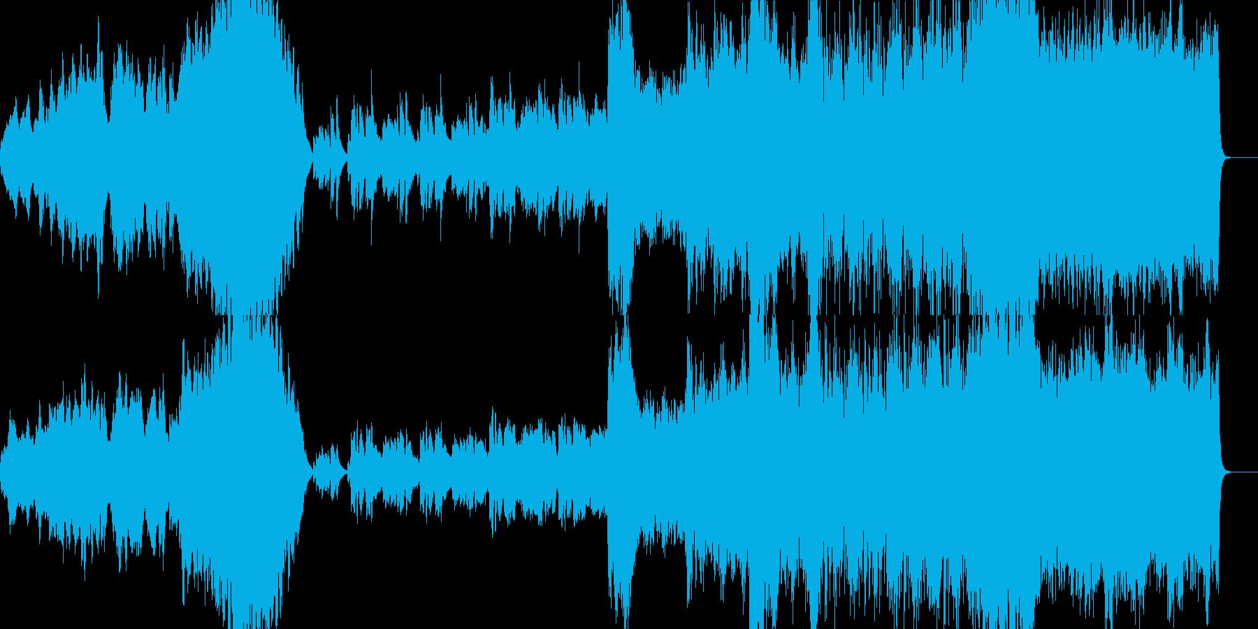 RPG 壮大なオープニングオーケストラの再生済みの波形