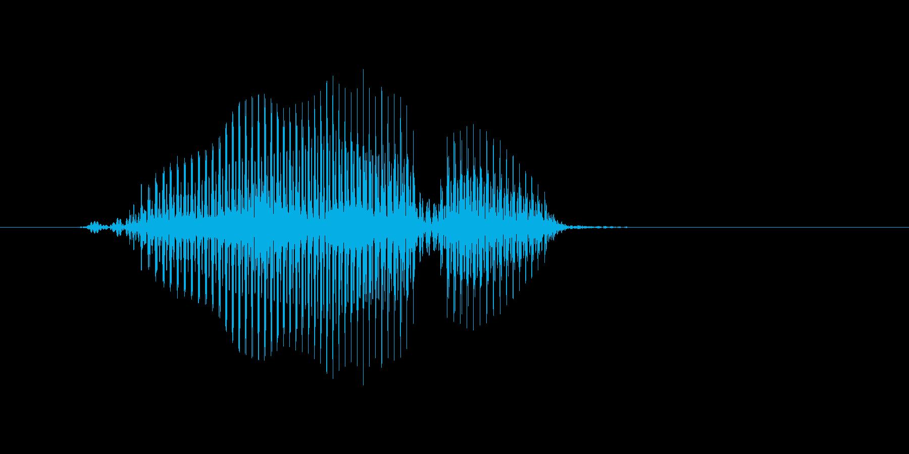 ボール(ぼおる)の再生済みの波形