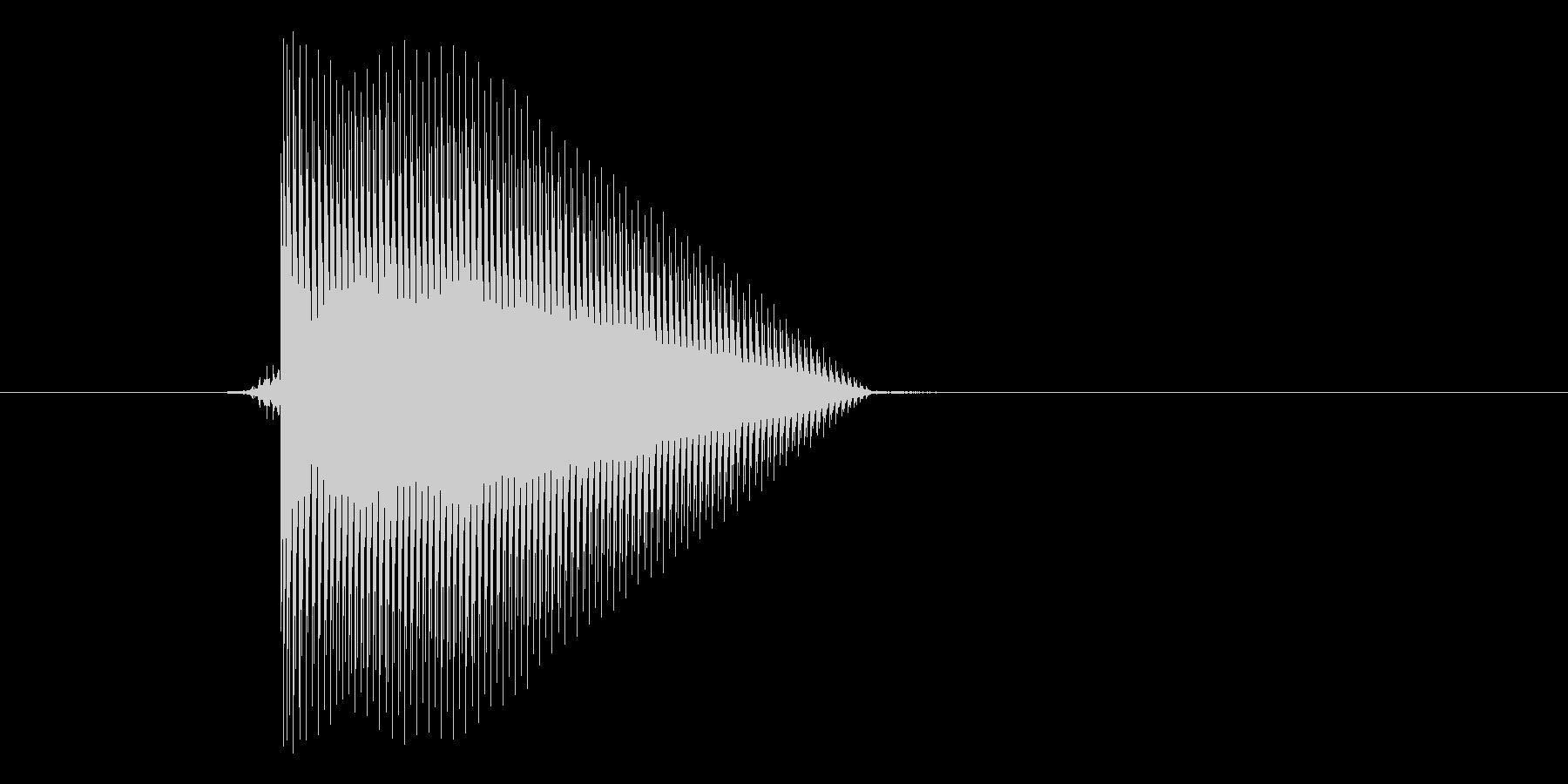 ゲーム(ファミコン風)セレクト音_047の未再生の波形