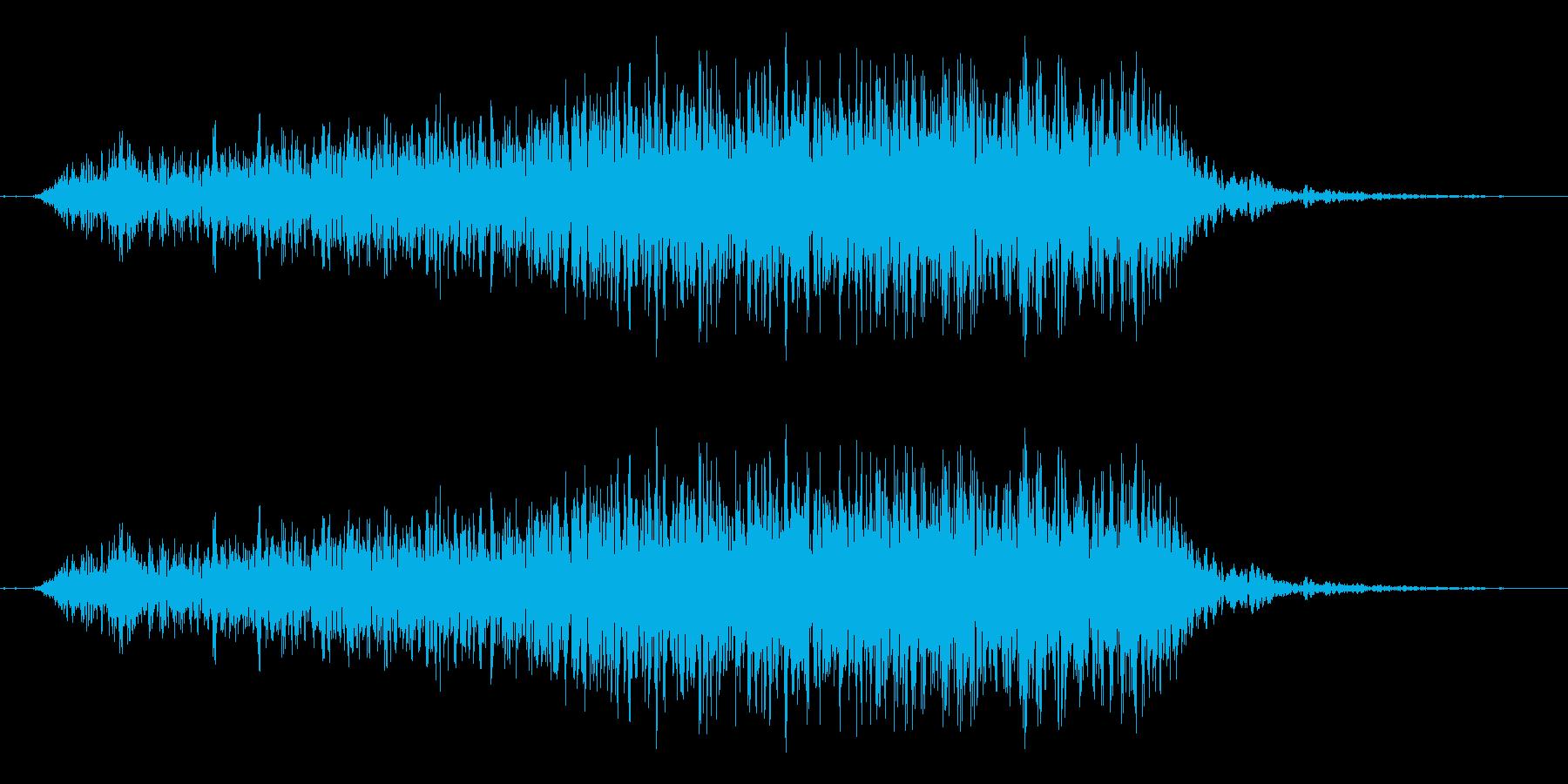 おぉー↑(力をこめる/ためる)(男複数)の再生済みの波形