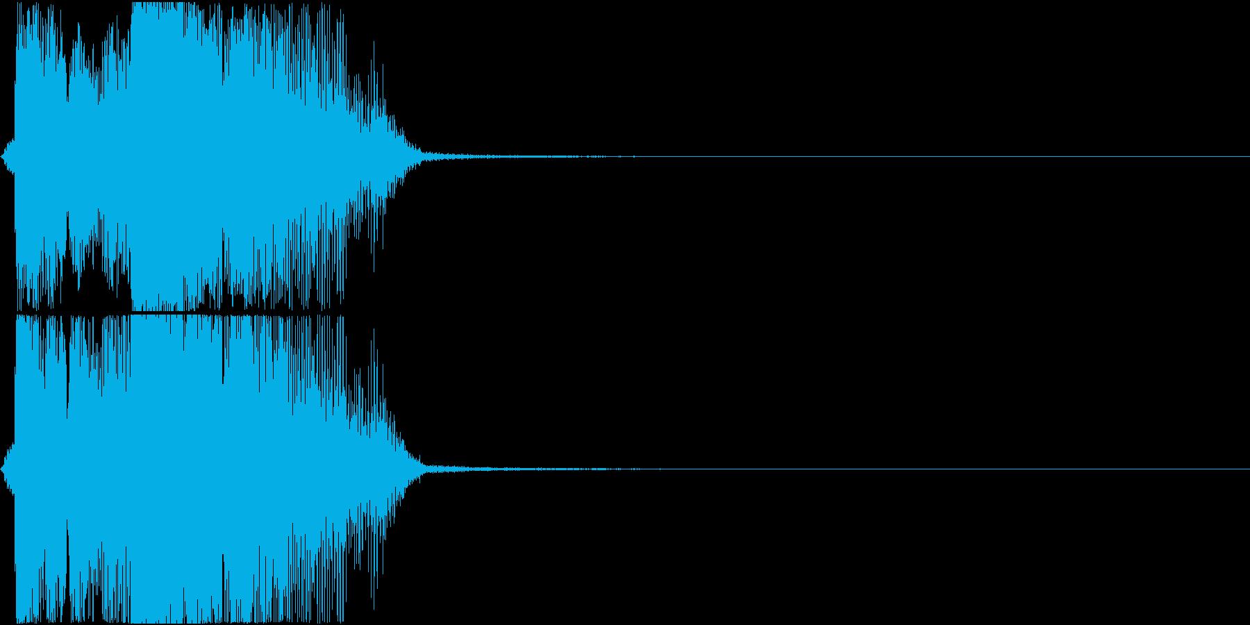 「ボーナスタイム」アプリ・ゲーム用2の再生済みの波形